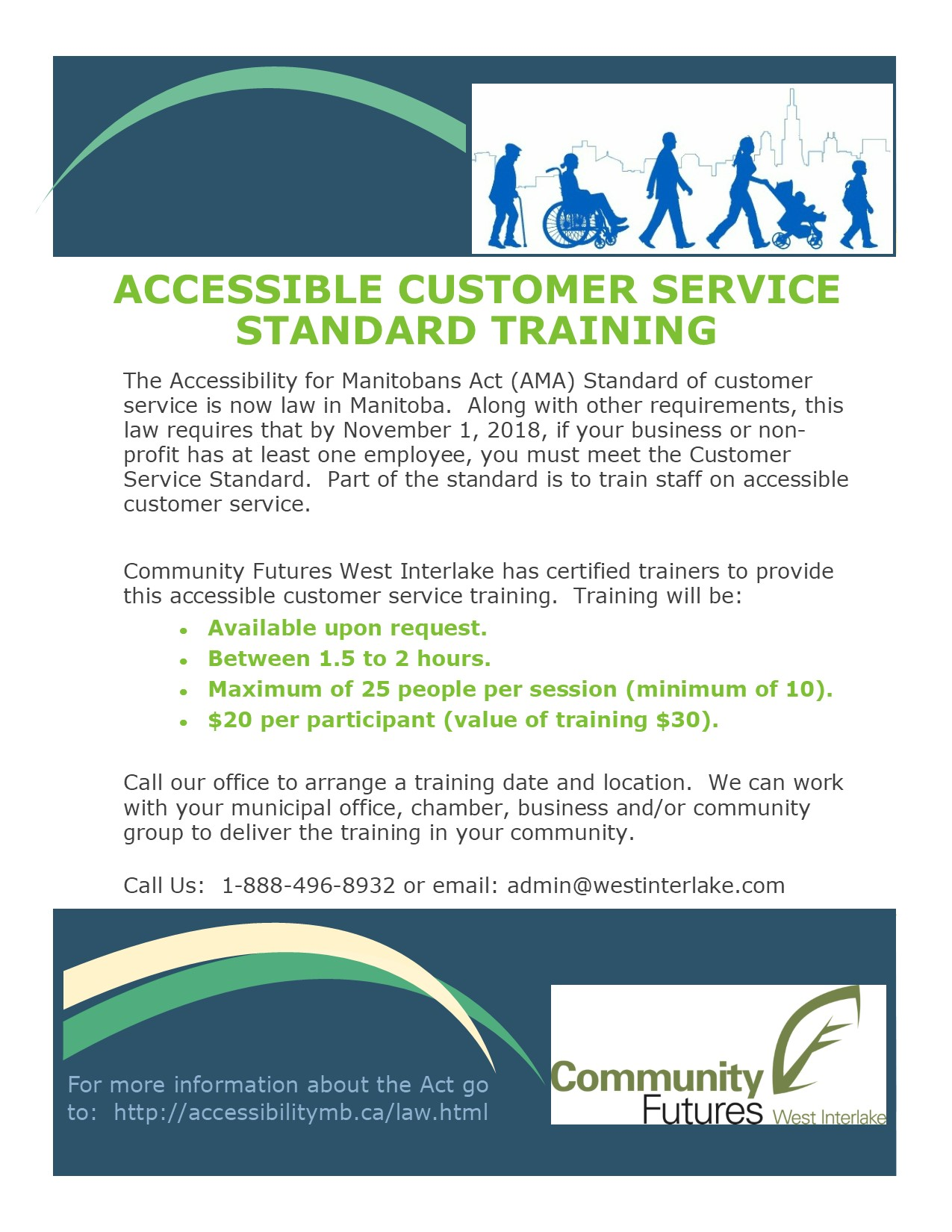 accessiblity training poster