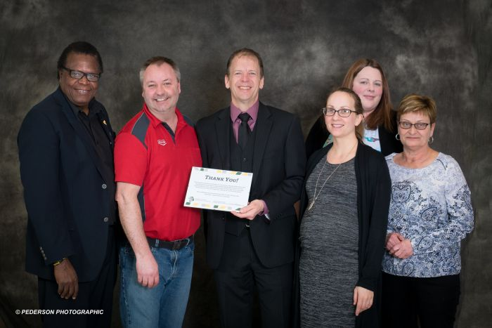 CF Parkland gets acknowledged by the Dauphin & District Chamber of Commerce