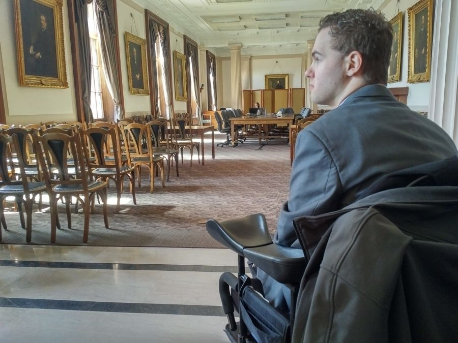 Community Futures Westman Elevate Participant Chance Toder Recognized in Manitoba Legislature